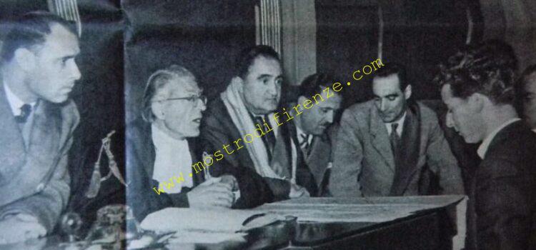 <b>13 Dicembre 1951 Processo a carico di Pietro Pacciani e Miranda Bugli</b>