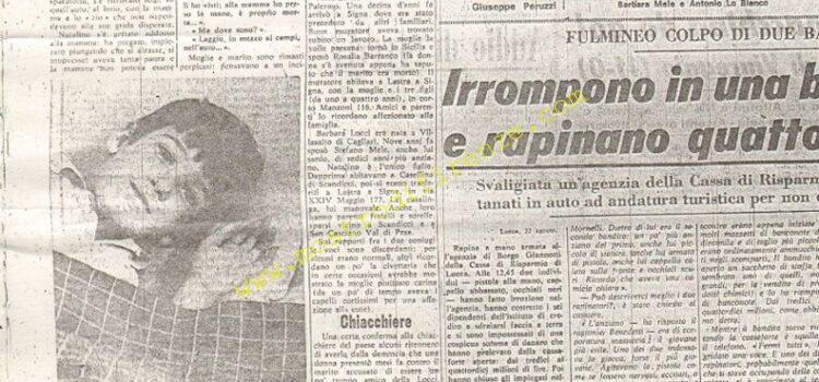 <b>23 Agosto 1968 Stampa: La Nazione pag 9</b>