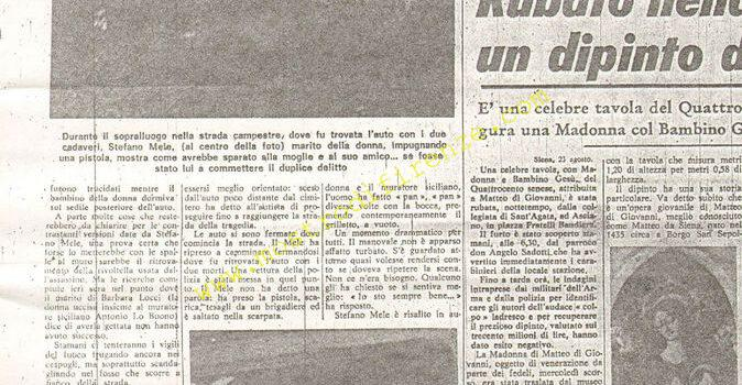 <b>24 Agosto 1968 Stampa: La Nazione pag 10</b>