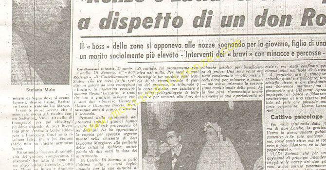 <b>28 Agosto 1968 Stampa: La Nazione</b>
