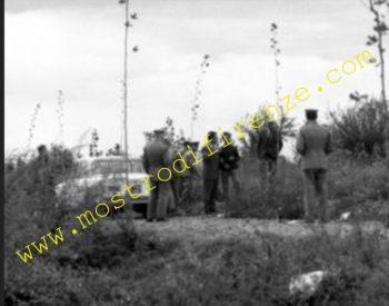 <b>23 Agosto 1968 Sopralluogo con ricostruzione dell'omicidio</b>