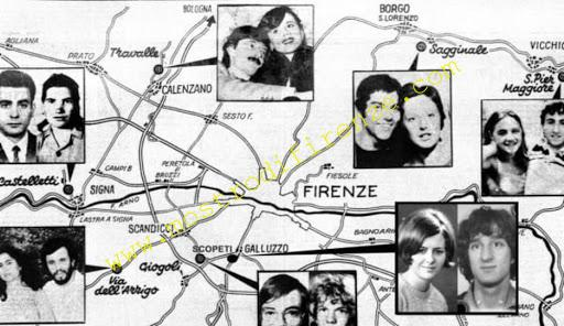 <b>Mappa delitto di Signa 21 Agosto 1968</b>