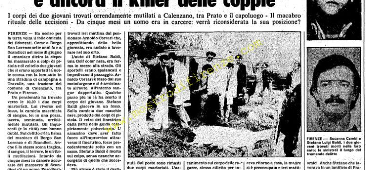 <b>24 Ottobre 1981 Stampa: Unità pag.5</b>