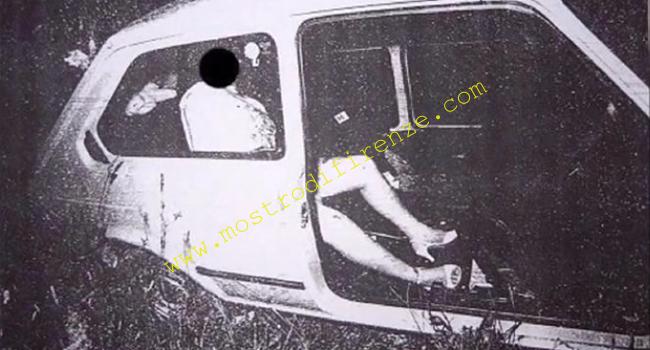 <b>20 Giugno 1982 I corpi di Antonella Migliorini e Paolo Mainardi: Foto</b>