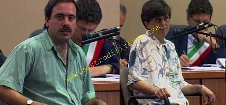 <b>21 Luglio 1994 Tiziana Martelli e Andrea Caini si recano alla Squadra Mobile</b>