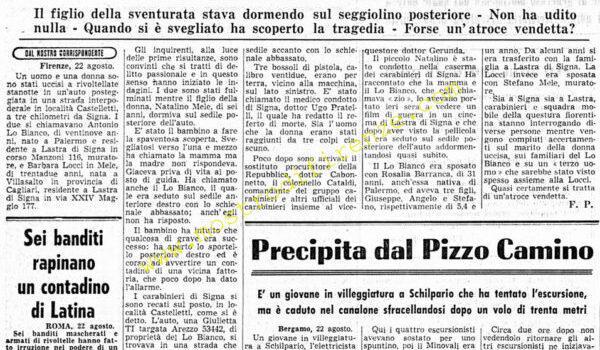 <b>22 Agosto 1968 Stampa: Corriere della Sera</b>