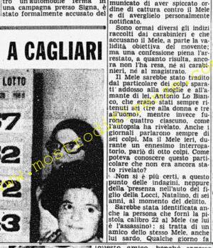 <b>25 Agosto 1968 Stampa: Corriere della Sera</b>