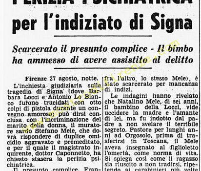 <b>28 Agosto 1968 Stampa: Corriere della Sera</b>