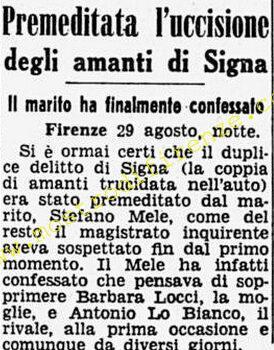 <b>30 Agosto 1968 Stampa: Corriere della Sera</b>