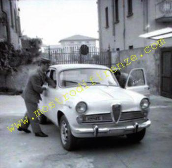 <b>22 Agosto 1968 Rimozione automobile Alfa Romeo Giulietta TI</b>