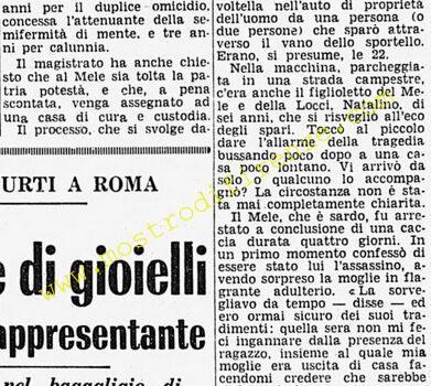 <b>25 Marzo 1970 Stampa: Corriere della Sera</b>