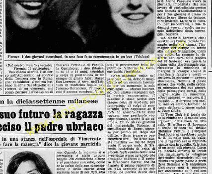 <b>17 Settembre 1974 Stampa: La Stampa</b>