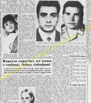 <b>23 Agosto 1968 Stampa: La Stampa Pag.13</b>
