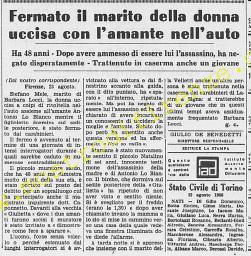 <b>24 Agosto 1968 Stampa: La Stampa Pag.14</b>