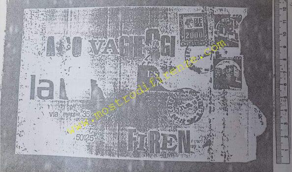 <b>9 Novembre 1988 Lettera anonima a Paolo Vagheggi</b>