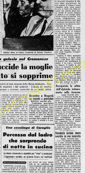 <b>27 Agosto 1968 Stampa: Stampa Sera Pag. 11</b>