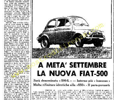 <b>25 Agosto 1968 Stampa: Unità pag.5</b>