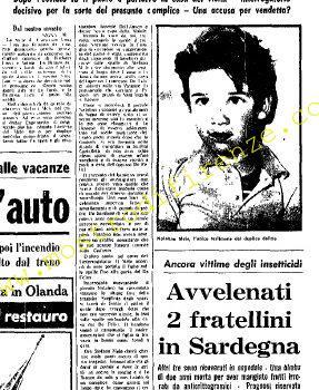 <b>27 Agosto 1968 Stampa: Unità pag.5</b>