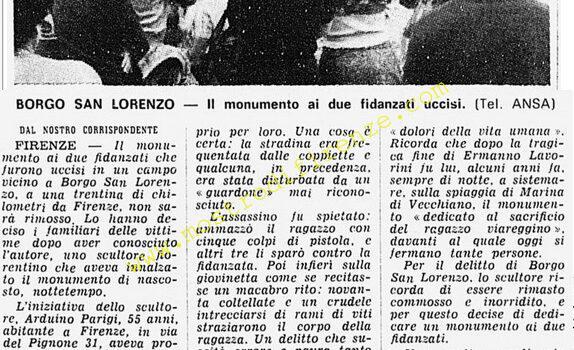 <b>8 Giugno 1976 Stampa: Corriere della Sera</b>