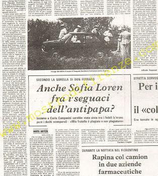 <b>16 17 Settembre 1974 Stampa: Il Giornale d'Italia pag 6</b>