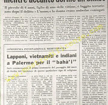 <b>22 23 Agosto 1968 Stampa: Il Giornale d'Italia pag 6</b>