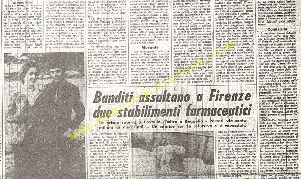 <b>17 Settembre 1974 Stampa: La Nazione pag 5</b>