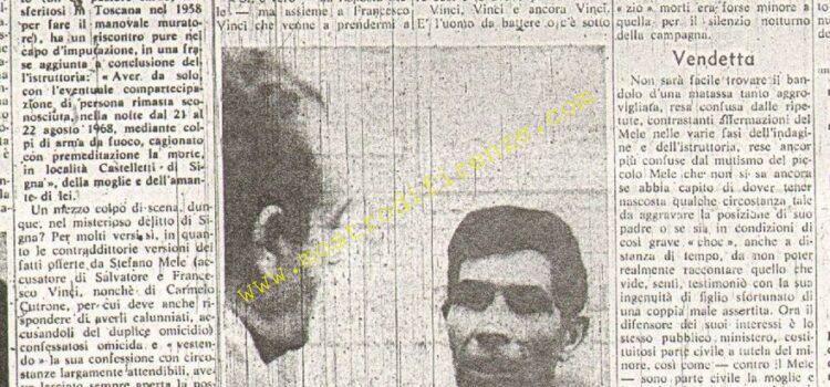 <b>17 Marzo 1970 Stampa: La Nazione pag.7</b>