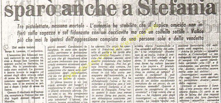 <b>18 Settembre 1974 Stampa: La Nazione pag 5</b>