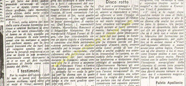<b>19 Marzo 1970 Stampa: La Nazione pag.5</b>