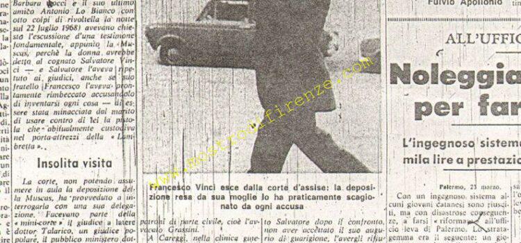 <b>24 Marzo 1970 Stampa: La Nazione pag.7</b>