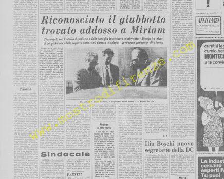 <b>25 Marzo 1972 Stampa: La Nazione</b>