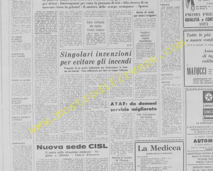 <b>26 Marzo 1972 Stampa: La Nazione</b>