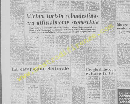 <b>27 Marzo 1972 Stampa: La Nazione</b>