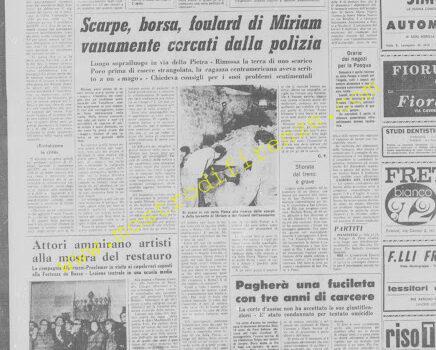 <b>30 Marzo 1972 Stampa: La Nazione</b>