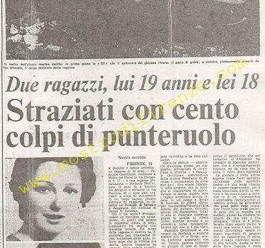 <b>16 Settembre 1974 Stampa: Paese Sera pag 10</b>