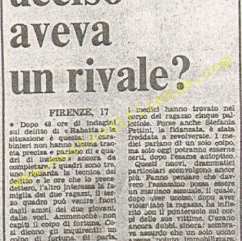 <b>17 Settembre 1974 Stampa: Paese Sera pag 11</b>