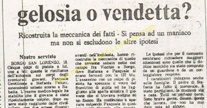 <b>18 Settembre 1974 Stampa: Paese Sera pag 11</b>