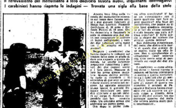 <b>4 Giugno 1976 Stampa: Unità pag.10</b>