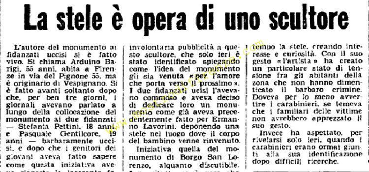 <b>6 Giugno 1976 Stampa: Unità pag.10</b>