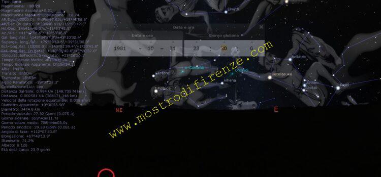 <b>22 Ottobre 1981 La luna</b>