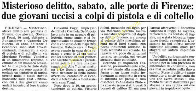 <b>8 Giugno 1981 Stampa: Corriere della Sera</b>
