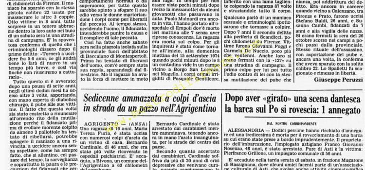 <b>21 Giugno 1982 Stampa: Corriere della Sera</b>