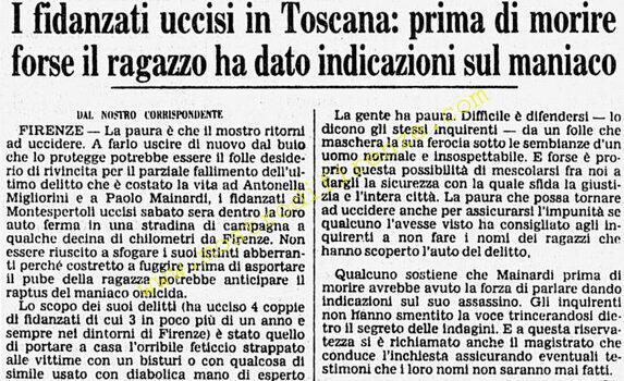 <b>22 Giugno 1982 Stampa: Corriere della Sera</b>