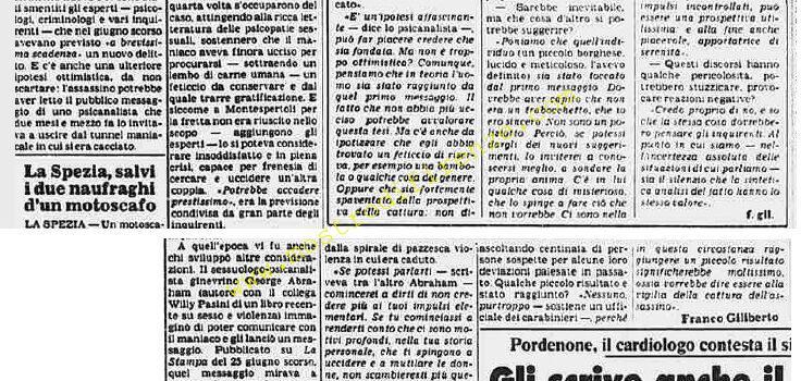 <b>4 Settembre 1982 Stampa: La Stampa Pag 9</b>