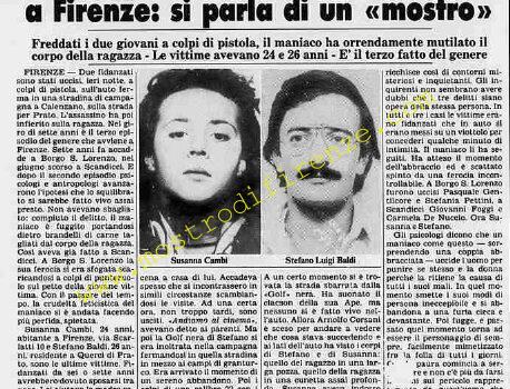 <b>24 Ottobre 1981 Stampa: Stampa Sera Pag 9</b>