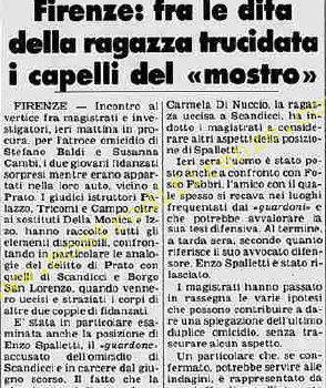<b>25 Ottobre 1981 Stampa: Stampa Sera Pag 8</b>