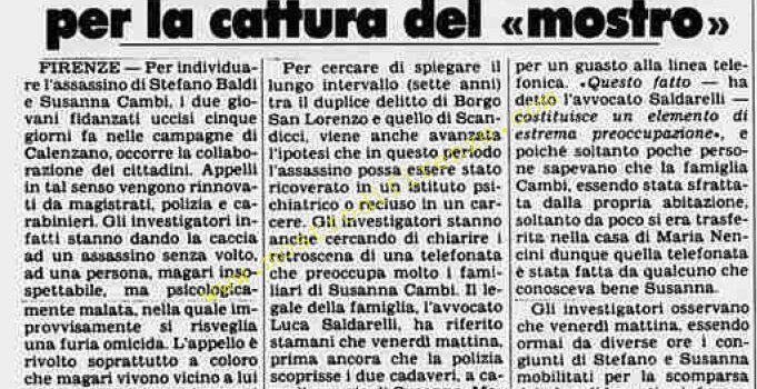 <b>28 Ottobre 1981 Stampa: Stampa Sera Pag 7</b>