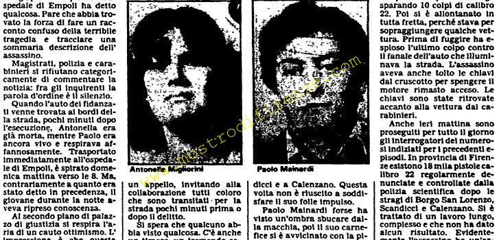<b>22 Giugno 1982 Stampa: Unità pag.5</b>