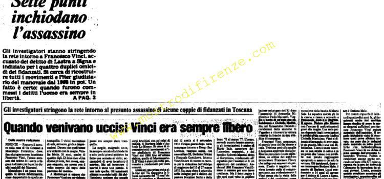 <b>9 Novembre 1982 Stampa: Unità pag.1 e 2</b>