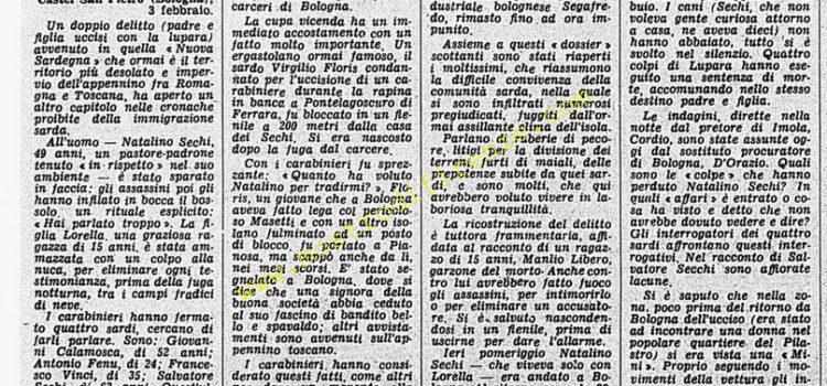 <b>4 Febbraio 1976 Stampa: Corriere della Sera</b>